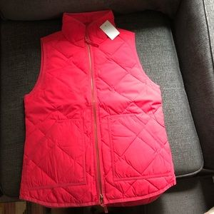 BNWT JCrew excursion vest XXS